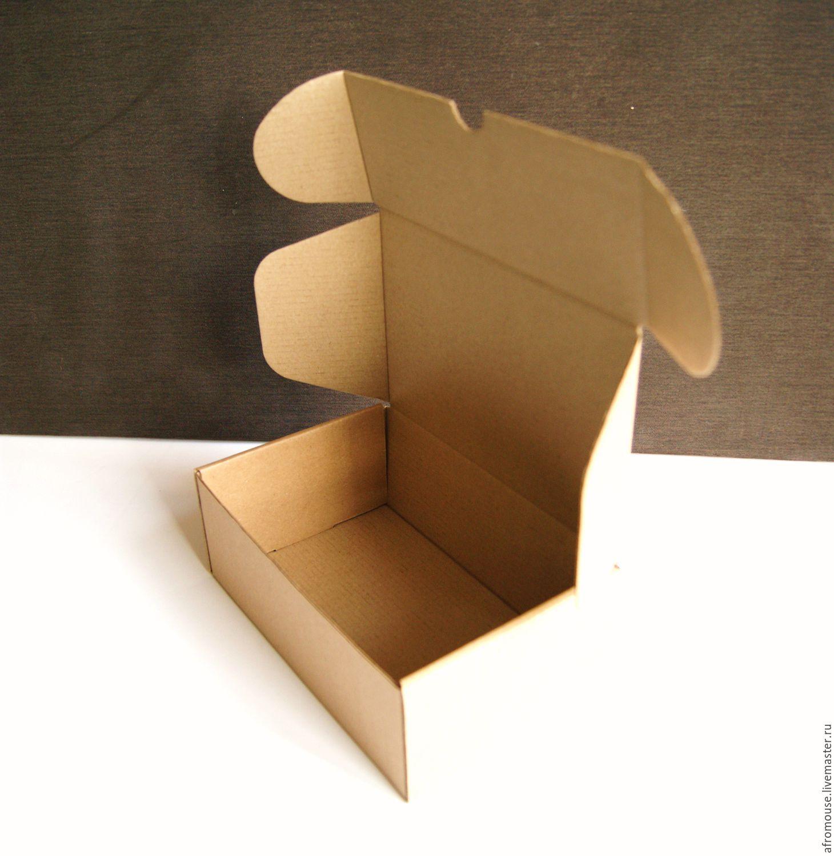 Простейшая коробка из картона своими руками фото 884