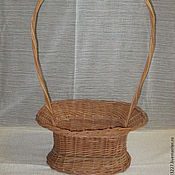 Материалы для творчества handmade. Livemaster - original item Basket for flowers, gift arrangement. Handmade.
