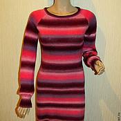 """Одежда ручной работы. Ярмарка Мастеров - ручная работа Вязаное женское платье """"Ягодный микс"""". Handmade."""