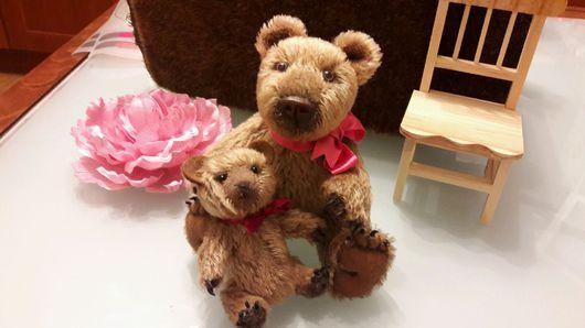 Мишки Тедди ручной работы. Ярмарка Мастеров - ручная работа. Купить Том и Бом Мишки Тедди. Handmade. Мишки тедди