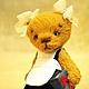 Мишки Тедди ручной работы. Первоклашка Машка. Пур-Пур (pur-pur). Интернет-магазин Ярмарка Мастеров. Талисман, мишки