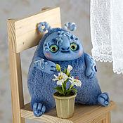 Куклы и игрушки ручной работы. Ярмарка Мастеров - ручная работа Чудь Голубая. Handmade.