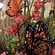 Картины цветов ручной работы. Заказать Картины вышитые бисером. Екатерина Купор Снежинка. Ярмарка Мастеров. Картина для интерьера