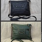 Classic Bag handmade. Livemaster - original item Leather bag art.1-69. Handmade.