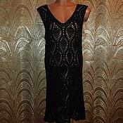 Одежда ручной работы. Ярмарка Мастеров - ручная работа Платье черное. Handmade.