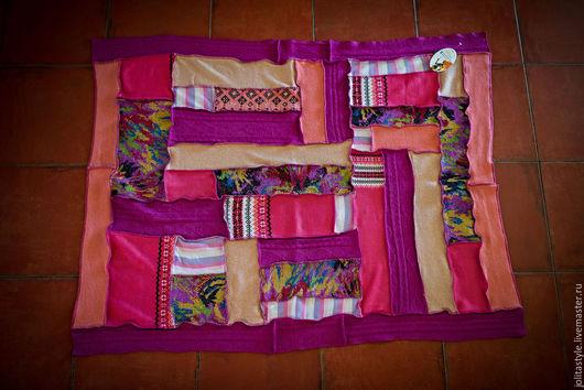 Пледы и одеяла ручной работы. Ярмарка Мастеров - ручная работа. Купить Шерстяное одеяло для девочки. Handmade. Розовый, плед для девочки
