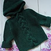 Работы для детей, handmade. Livemaster - original item Jacket baby. Handmade.