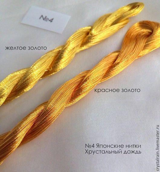Блестящие нитки для вышивки