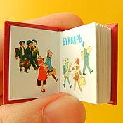 Куклы и игрушки ручной работы. Ярмарка Мастеров - ручная работа Букварь мини-книга. Handmade.