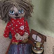 Куклы и игрушки ручной работы. Ярмарка Мастеров - ручная работа Домовенок Кузя. Композиция. Handmade.