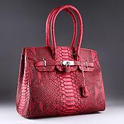 Сумки и аксессуары handmade. Livemaster - original item Bag made from Python IMP0030R2. Handmade.