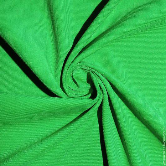 Шитье ручной работы. Ярмарка Мастеров - ручная работа. Купить Американский хлопок-вельвет  однотонный ярко-зеленый. Handmade.
