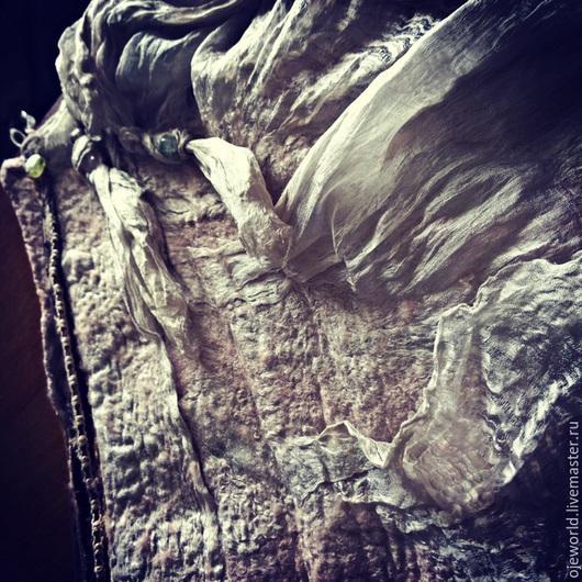 """Юбки ручной работы. Ярмарка Мастеров - ручная работа. Купить Юбка""""rose""""валяная, нунофелтинг. Handmade. Бледно-розовый, валяная юбка, мексика"""