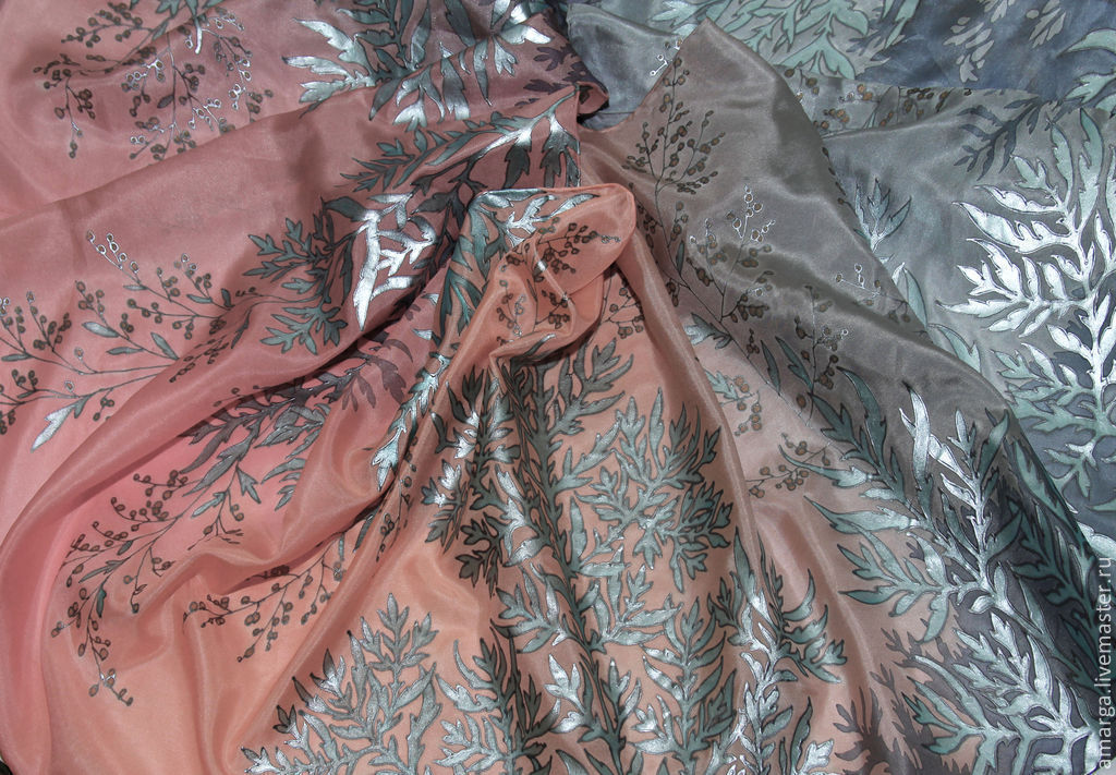 batik, batik scarf, batik pashmina batik scarf, batik silk, painted batik, Shibori silk batik, tie-dye batik