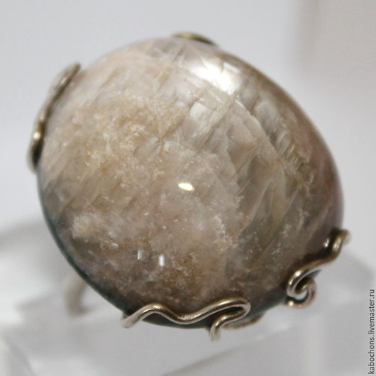 """Кольца ручной работы. Ярмарка Мастеров - ручная работа. Купить Кольцо Лунный камень """"Селена"""". Handmade. Мельхиор, серебряный"""