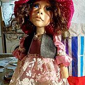 Шарнирная кукла ручной работы. Ярмарка Мастеров - ручная работа Интерьерная кукла Адель. Handmade.