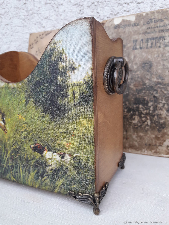 Карандашница, короб, Охота, Карандашницы, Новосибирск, Фото №1