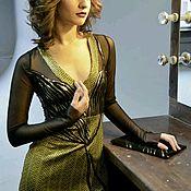 Одежда ручной работы. Ярмарка Мастеров - ручная работа Платье вечернее Срекоза. Handmade.
