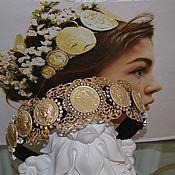 Украшения ручной работы. Ярмарка Мастеров - ручная работа MEDALLION -  в стиле DOLCE & GABBANA. Handmade.