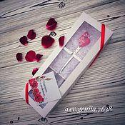 """Ложки ручной работы. Ярмарка Мастеров - ручная работа Ложка с декором """"Сердце"""". Handmade."""