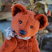 Куклы и игрушки handmade. Livemaster - original item Ginger the Soviet bear 1950-70 years. Handmade.