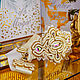 Order Soutache elastic belt Wedding. belt beaded. Bead embroidery. LADY-LIZA jewelry shop. Livemaster. . Belt Фото №3