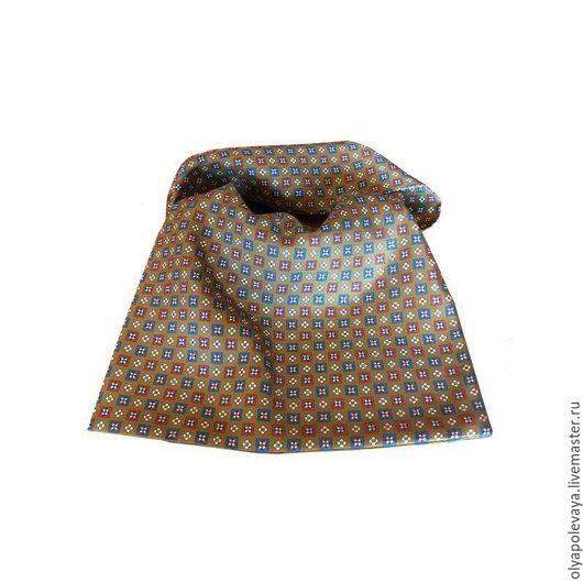 Что подарить любимому? Роскошный двухслойный шейный шарф из итальянского натурального шелка! Носится под рубашку, под пуловер и как элегантный аксессуар к деловому костюму!