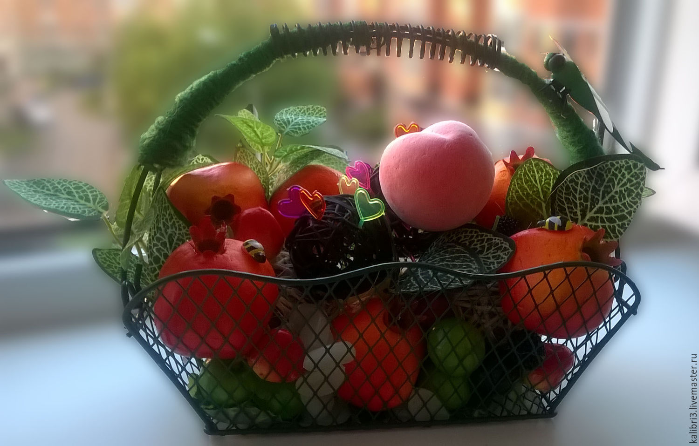 Стих поздравление корзина с фруктами