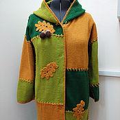 Одежда ручной работы. Ярмарка Мастеров - ручная работа Пальто Дубовый листочек. Handmade.