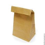 Материалы для творчества ручной работы. Ярмарка Мастеров - ручная работа Крафт пакет с плоским дном 150 х 95 х 358 мм. Handmade.