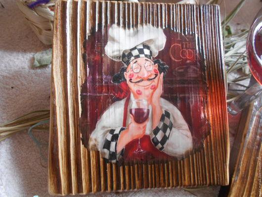 Люди, ручной работы. Ярмарка Мастеров - ручная работа. Купить картины панно (Не вино, а сказка). Handmade. Коричневый