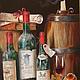 Картина маслом Натюрморт Старое вино. Урожай. Масло холст на подрамник, Картины, Сыктывкар, Фото №1