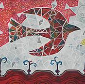 Картины и панно ручной работы. Ярмарка Мастеров - ручная работа Весна красна. Handmade.
