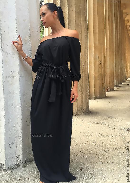 Черное платье с доставкой