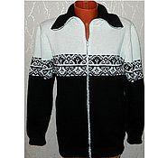 Одежда handmade. Livemaster - original item Cardigan knitted zipper. Handmade.