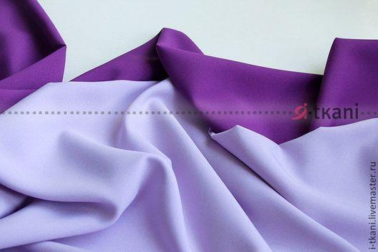 Габардин фиолетовый, сиреневый. В наличии 26 цветов!!! Производство: Китай FUHUA (производится на экспорт для Англии и Японии).