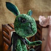 Куклы и игрушки ручной работы. Ярмарка Мастеров - ручная работа Заяц тедди по мотивам картины Босха.. Handmade.