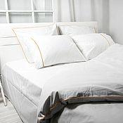 Для дома и интерьера handmade. Livemaster - original item White bedding. White duvet cover. White Linen Duvet Cover Set. Handmade.