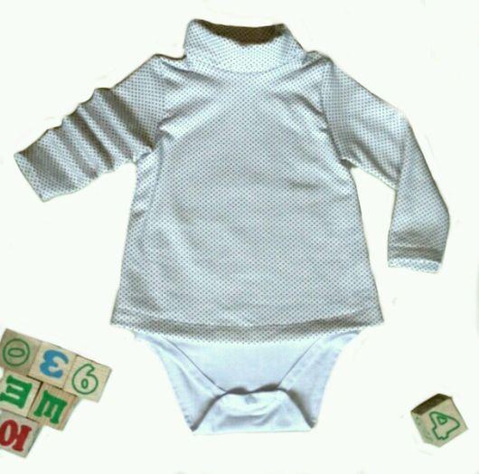 Одежда для девочек, ручной работы. Ярмарка Мастеров - ручная работа. Купить Боди - туника. Handmade. Боди, туника, футер