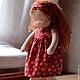 Вальдорфская игрушка ручной работы. Ксенечка, 32см. Калина Ерофеева куклы для детей. Ярмарка Мастеров. Кукла для ребенка, кид-мохер