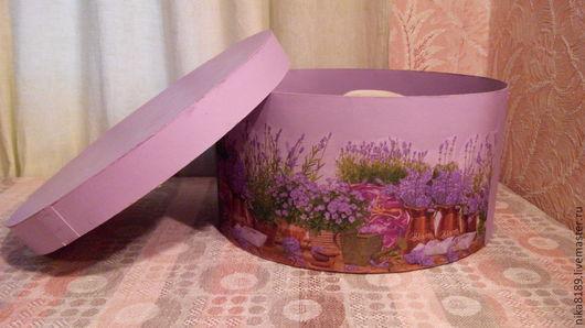 Шляпная коробка `Прованс`