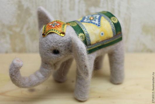 Игрушки животные, ручной работы. Ярмарка Мастеров - ручная работа. Купить слоненок. Handmade. Слоник, мягкая игрушка