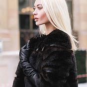 Одежда ручной работы. Ярмарка Мастеров - ручная работа Шубка из ЭКО меха Favorite furs. Handmade.