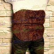 Одежда handmade. Livemaster - original item Belt of dog hair (fluff Banjara) .. Handmade.