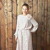 Одежда ручной работы. Ярмарка Мастеров - ручная работа Платье Изабела 4181942. Handmade.