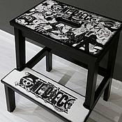 Для дома и интерьера ручной работы. Ярмарка Мастеров - ручная работа Табурет стремянка (несколько видов). Handmade.