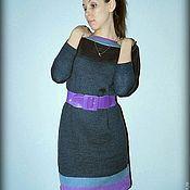 """Одежда ручной работы. Ярмарка Мастеров - ручная работа вязаное платье """"Стиль"""". Handmade."""