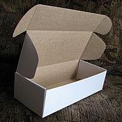 Материалы для творчества ручной работы. Ярмарка Мастеров - ручная работа Большие узкие коробки с ушками. Handmade.