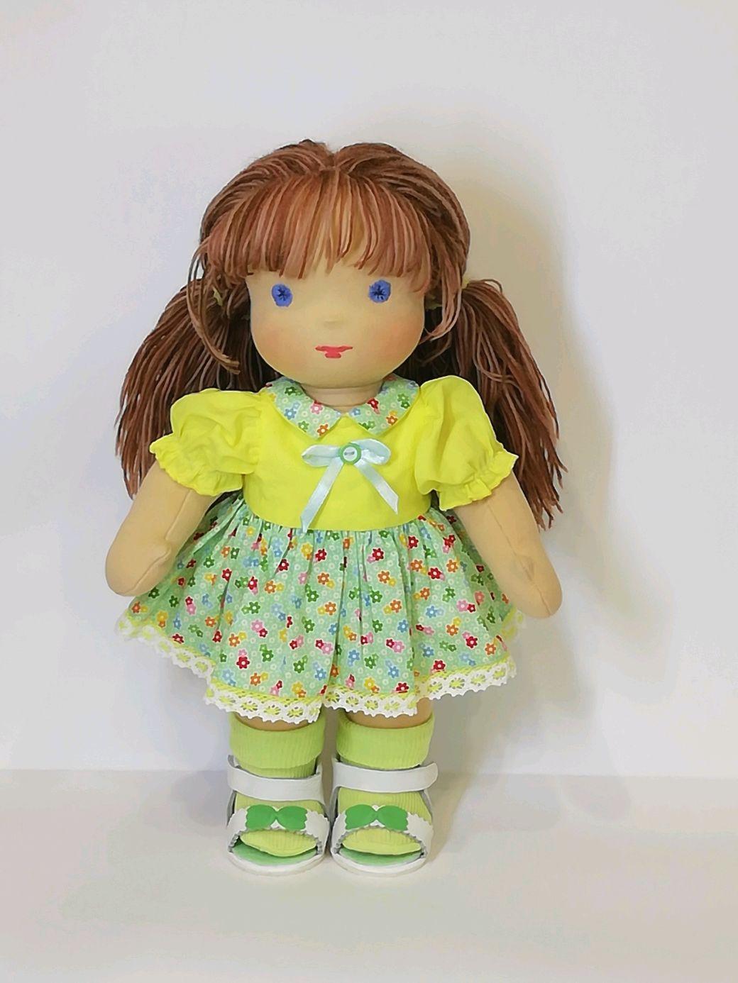 Вальдорфская кукла Мила, 36см, Вальдорфские куклы и звери, Архангельск,  Фото №1