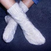 Аксессуары handmade. Livemaster - original item socks Beloved man. Handmade.